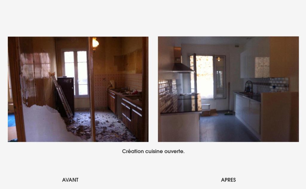 renovation cuisine ouverte