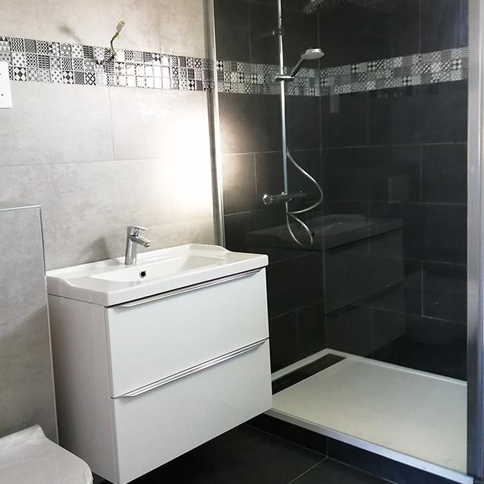 Renovation maison la salle de bain  est importante